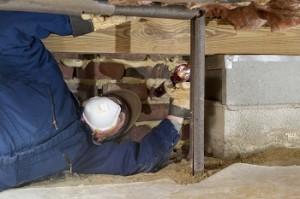 Inspecting Waterline Insulation